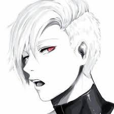 anime 1307457 anime boy white hair