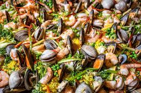 Seafood Paella Recipe - Rancho La Puerta