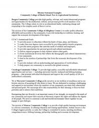 College Personal Statement Examples 011 Mission Statement Template Ideas Personal Statements