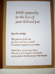 Sympathy Card Pet Loss Sympathy Card Pet Rome Fontanacountryinn Com