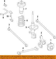 TOYOTA OEM 98-02 Corolla Rear Suspension-Strut 48540A9060 | eBay