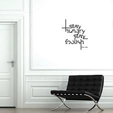 Small Picture Amazoncom Wall Decal Quote Steve Jobs Wall Art 56cm x 48cm