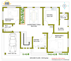House Design Ground Floor Plan 2 Storey House Design With 3d Floor Plan 2492 Sq Feet