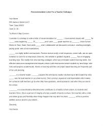Recom Letter For Colleague Re Sample Reference From Coworker