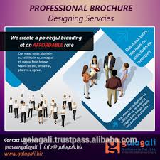 Cheap Price Creative Brochure Design And Fancy Flyer Design With