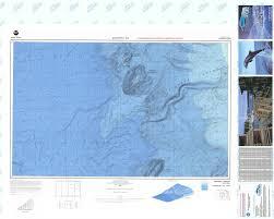 Free Bathymetric Charts Bathymetric Nautical Chart Lm 135 Pioneer Canyon