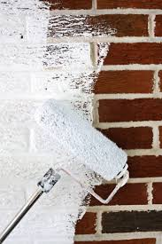 brick painting ideasHow to Paint Brick and Stone  A Beautiful Mess