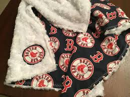 boston red sox baby blanket sox baby