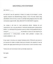 Sample Proposal For Services Service Letter Example Community