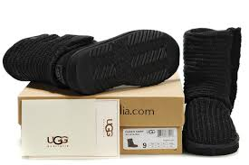 Ugg Black-Classic Cardy Boots 5819 Outlet,ugg mini ii,ugg slippers  sale,fashionable design
