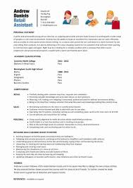 Resume For Someone With No Job Experience Extraordinary 48 Positive Retail Job Resume With No Experience Sierra