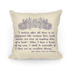 Pillow Quotes Magnificent Pride And Prejudice Book Quote Throw Pillow LookHUMAN