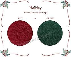 novelty red or green round carpet tree stand skirt floor accent area rug d2h9pttb