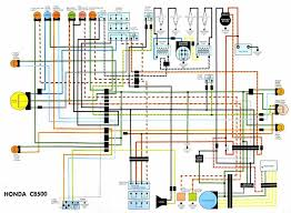 wiring diagrams cb500