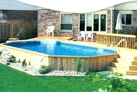 above ground swimming pool designs. Backyard Above Ground Pool Ideas Swimming Deck Design . Designs C