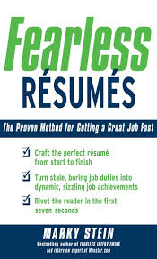 Proven Resumes Fearless Resumes The Proven Method For Getting A Great Job Fast