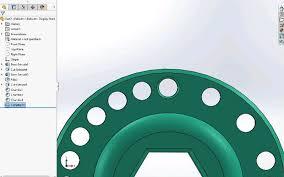 Circular Pattern Solidworks Stunning SOLIDWORKS 48 What's New Bidirectional Circular Pattern SOLIDWORKS