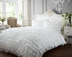 king size white duvet cover set