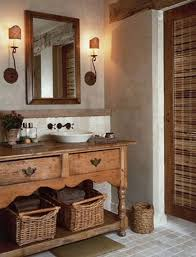 powder room furniture. Traditional Powder Room - Vessel Sink On Mediterranean Style Furniture Made Into Vanity, Mirror And Atticmag