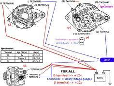 91 f350 7 3 alternator wiring diagram regulator alternator lucas alternator wiring diagram at Alternator Connections Diagram