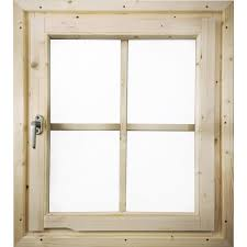 Karibu Fenster Für 38mm Dreh Kippbeschlag Naturbelassen 69 Cm X 80