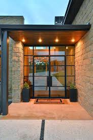 glass front doors steel and glass door design glass entry doors tampa