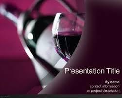 Wine Powerpoint Template Wine Bottle Powerpoint Template
