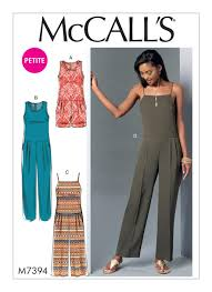 Women's Romper Pattern Impressive M48 Misses'Miss Petite Pleated DropWaist Romper And Jumpsuits