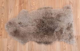 extra large white sheepskin rug