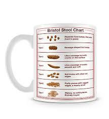 Bristol Stool Chart Health Care Nurse Funny Poo Gift Mug