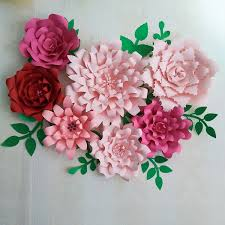 Flower Made In Paper 2019 2018 Large Giant Paper Flowers Half Made Paper Flower Full Kits Giant Rose Flower For Baby Nursery Wedding Backdrop Mix From Fivestarshop 42 22