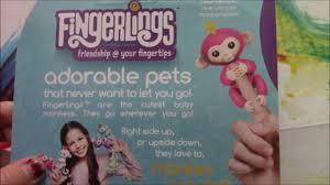 WowWee Fingerlings Interactive Baby Monkey Toy Bella opening! - YouTube