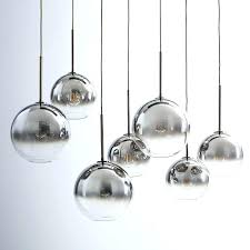 clear glass sphere chandelier glass sphere chandelier sculptural glass globe 3 light chandelier mixed west elm