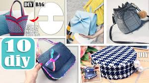 Sew Inappropriate Designs 10 Awesome Diy Bag Tutorials Cut Sew Purse Bag Designs Making During 25 Min