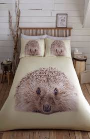 hedgehog animal print design stylish bedding duvet cover set 11342 p jpg