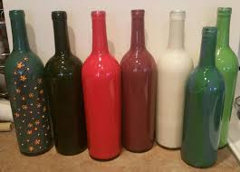 How To Decorate Wine Bottles With Paint