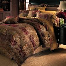 croscill 2a0 003o0 6405 610 galleria comforter set queen red