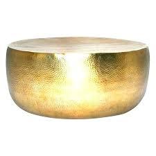 metal drum accent table copper round coffee side australia meta