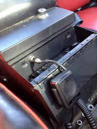 my jeep cj5 page cb radio i also figured that the cb inside the console i wouldn t be able to hear the speaker so i mounted an old marine grade exterior speaker to the back