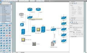 conceptdraw as an alternative to ms visio for mac and pccisco network diagram software