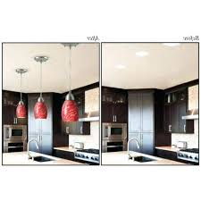 new replace can light with pendant and dining room minimalist tutorial how to convert recessed lights lovely replace can light with pendant