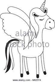 Carino Unicorn Kawaii Carattere Illustrazione Vettoriale 175899414