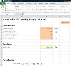 Periodic Payment Formula Future Value Of A Growing Annuity Calculator Double Entry Bookkeeping
