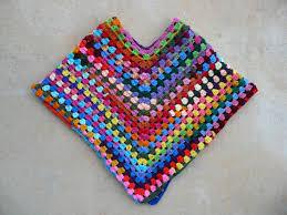 Granny Square Poncho Pattern
