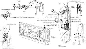 car door latch assembly. Mustang Technical Discussion Pre 1973 68 Door Mechanism Car Latch Assembly