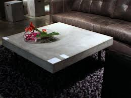 best concrete element coffee table design ideas