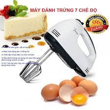 Máy trộn bột làm bánh mì Máy đánh trứng, máy đánh trứng mini, máy đánh trứng  cầm tay 7 chế độ MDT008 làm bằng inox không gỉ, đều , mịn , nhanh