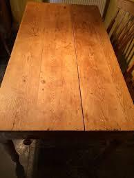 Pine Farmhouse Kitchen Table Antique Pine Farmhouse Kitchen Table In Wells Somerset Gumtree