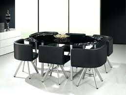 glass dining table set room low 6 chairs