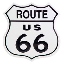 "Details about 11"" <b>US</b> Route 66 Historic <b>Metal Tin Sign</b> Man Cave ..."